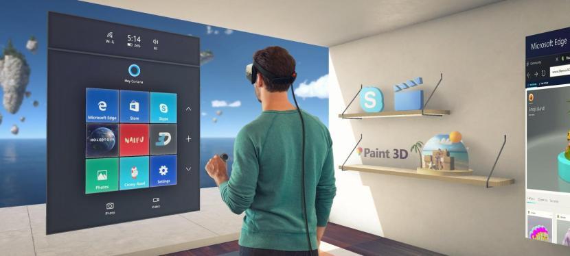 Microsoft affûte ses armes VR/AR!