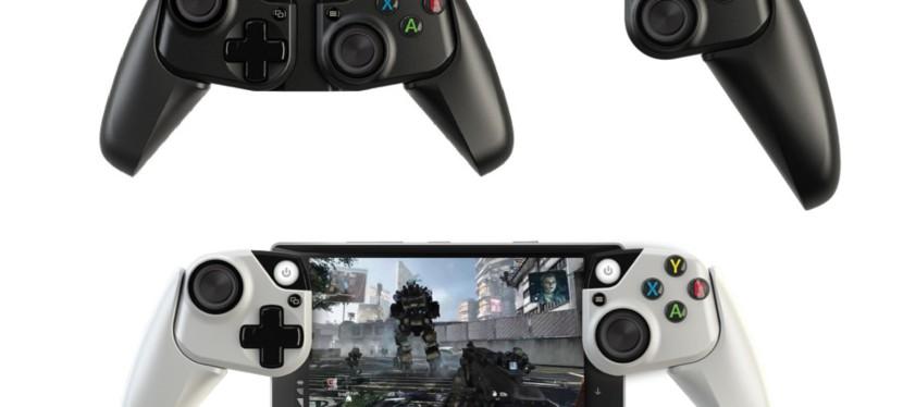 Microsoft Research : une manette Xbox «joycon-like» pour téléphones et tablettes?